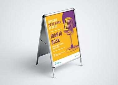 Diseño y desarrollo de campaña creativa para el Ayuntamiento de Olesa de Montserrat. Desarrollo y aplicación del diseño en diferentes soportes.