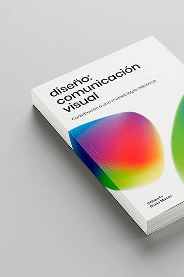 Portada Libro: Diseño, Comunicación Visual. Bruno Munari.